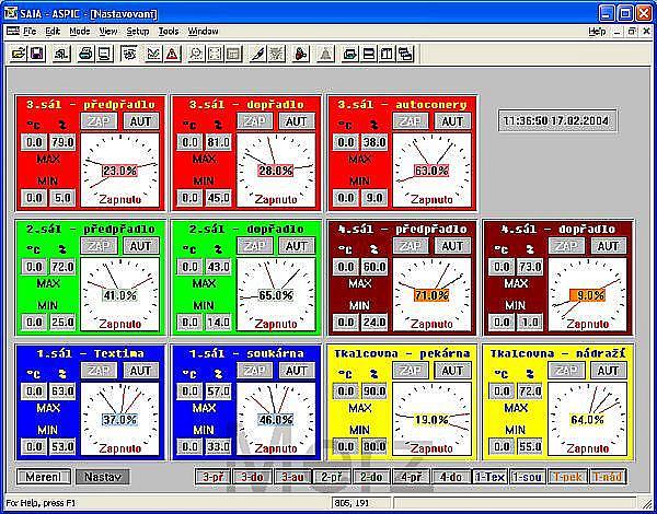 Aspic 3.30 Sample Screen