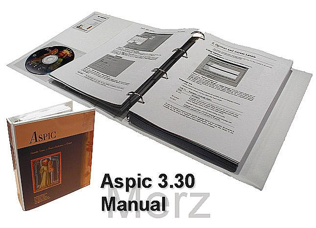 Aspic 3.30 Printed Manual